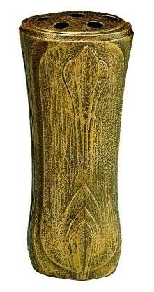 Grabvase Adela, bronzefarben