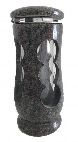 Grablaterne aus Granit, Orion, 27 cm hoch