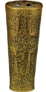 Grabvase Adda, bronzefarben